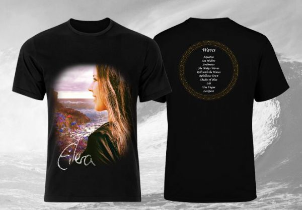 Eilera Waves shirt album cover front & back