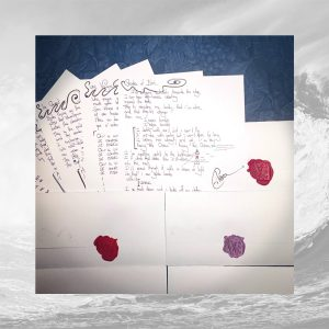 Eilera Waves handwritten lyrics