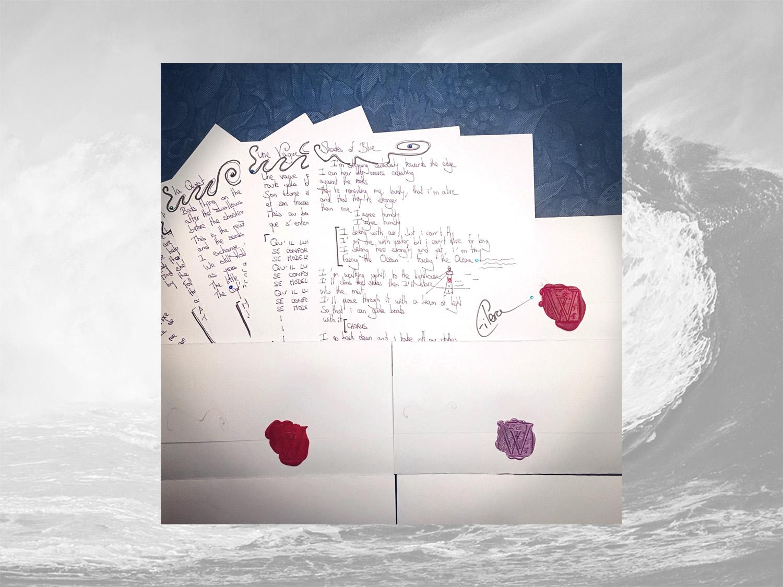 Eilera Waves handwritten lyrics
