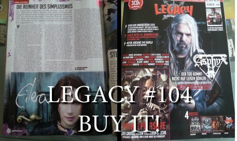 Interview in Legacy magazine